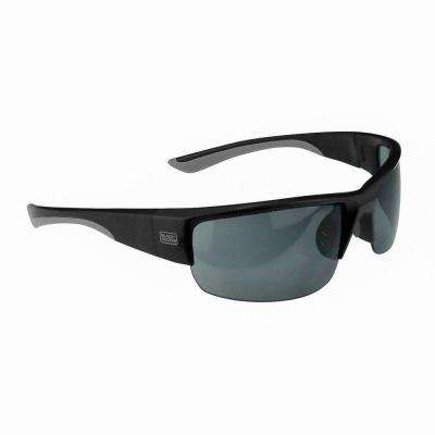 Top Frame Wide Coverage Safety Glasses with Silver Mirror Lens