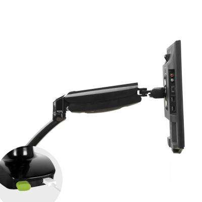 Full Motion Desk Mounts Monitor Stand for 10 in. - 27 in. LCD 8.8 lbs. - 22 lbs. Weight Bearing with USB Cables