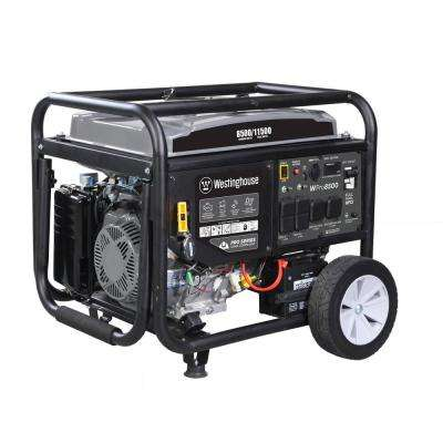 Pro 8500-Watt Super Duty Gas Powered Portable Industrial Inverter Generator with Remote Start and Full Panel GFCI