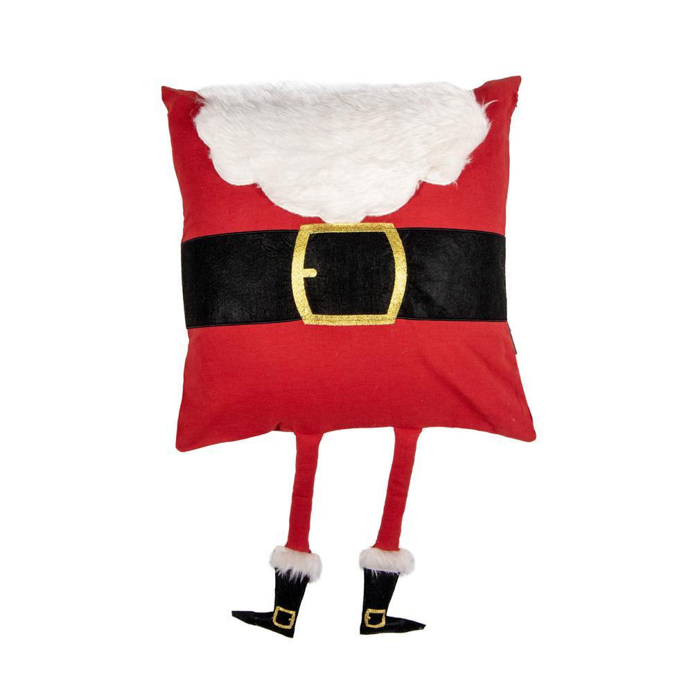 Santa Legs Pillow