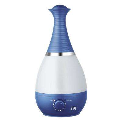 Ultrasonic Humidifier with Fragrance Diffuser - Blue