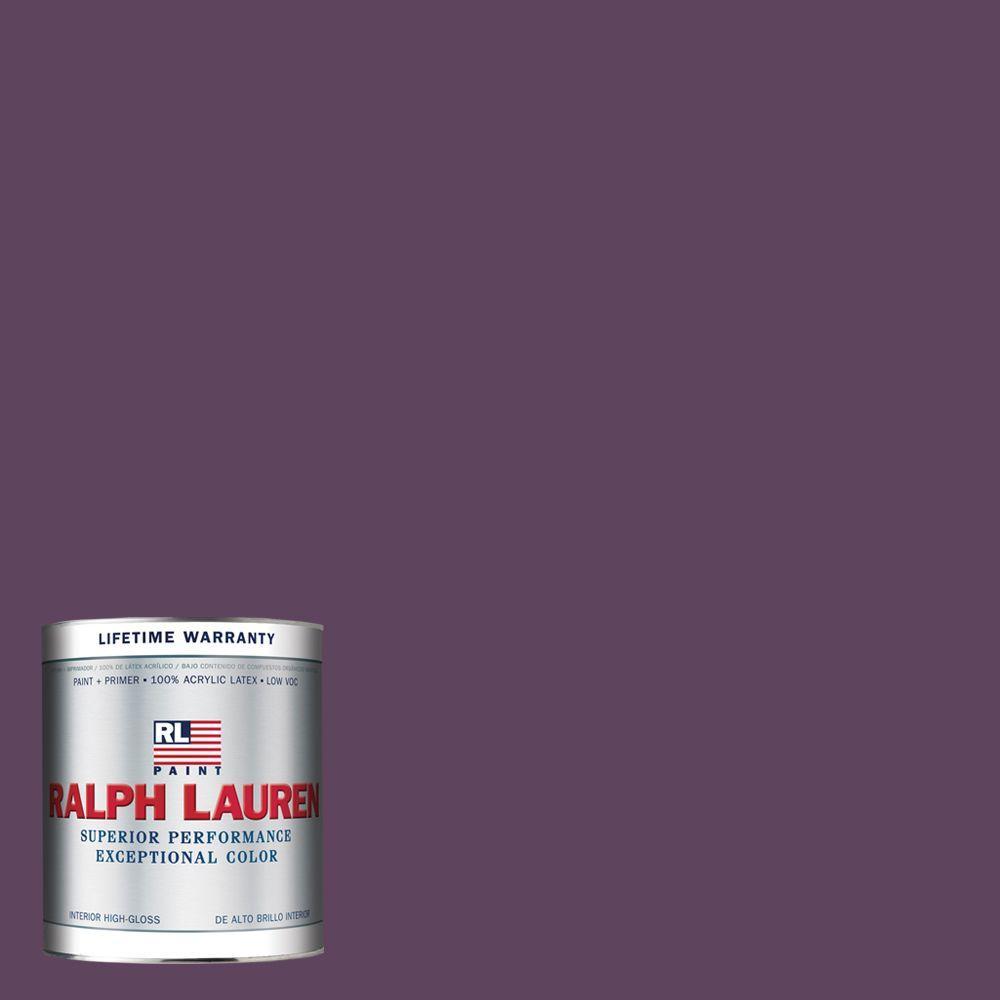 Ralph Lauren 1-qt. Knole Purple Hi-Gloss Interior Paint