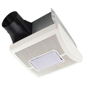 InVent Series 110 CFM Ceiling Bathroom Exhaust Fan with Light  sc 1 st  The Home Depot & NuTone Duct-Free Wall/Ceiling Mount Exhaust Bath Fan-682NT - The ... azcodes.com