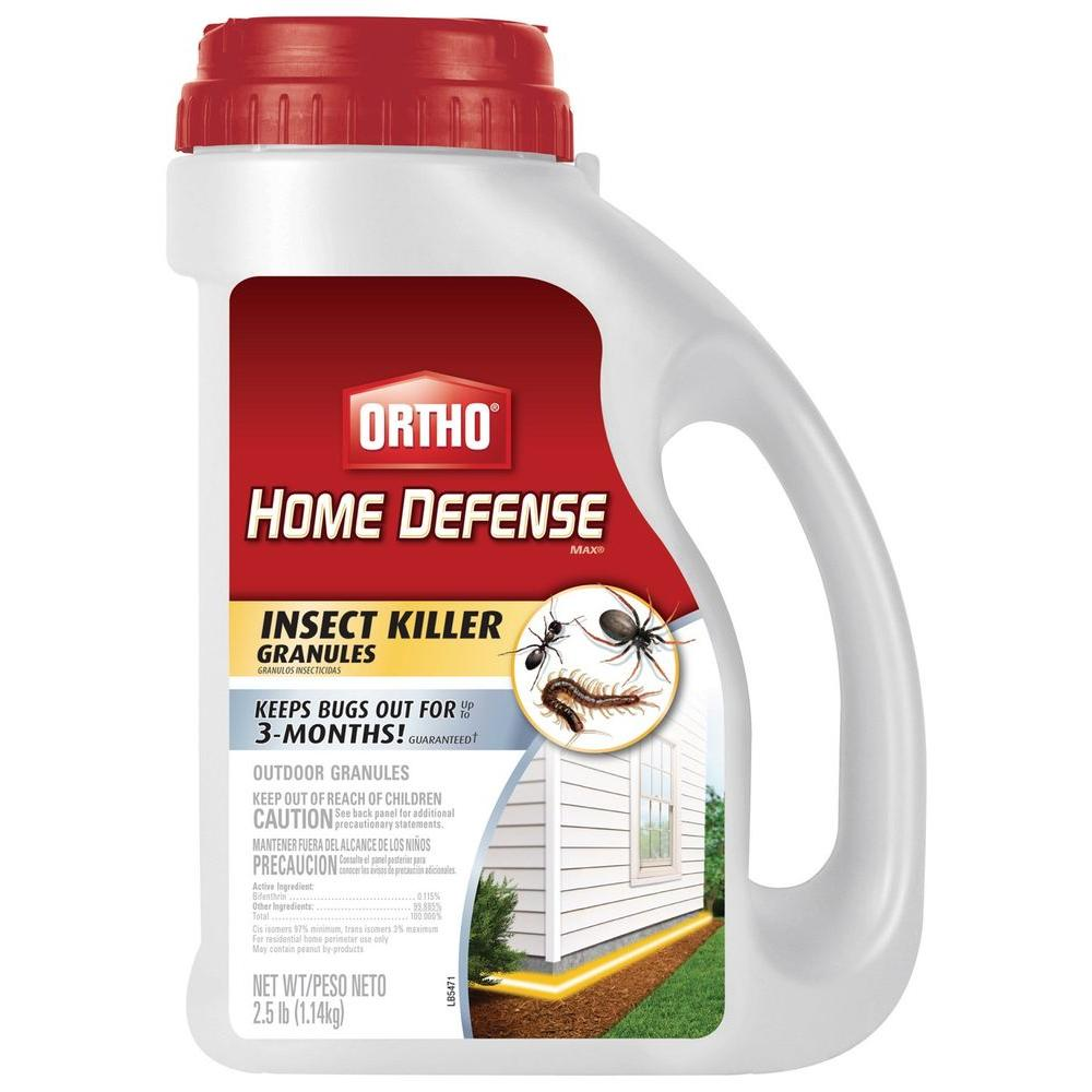 Ortho Home Defense Max 2 5 Lb Ready To Use Insect Killer Granules