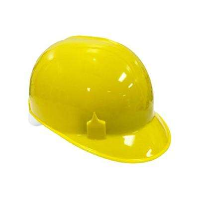 Bump Cap with 4 Point Pin Lock Suspension, HDPE Cap Style, Yellow