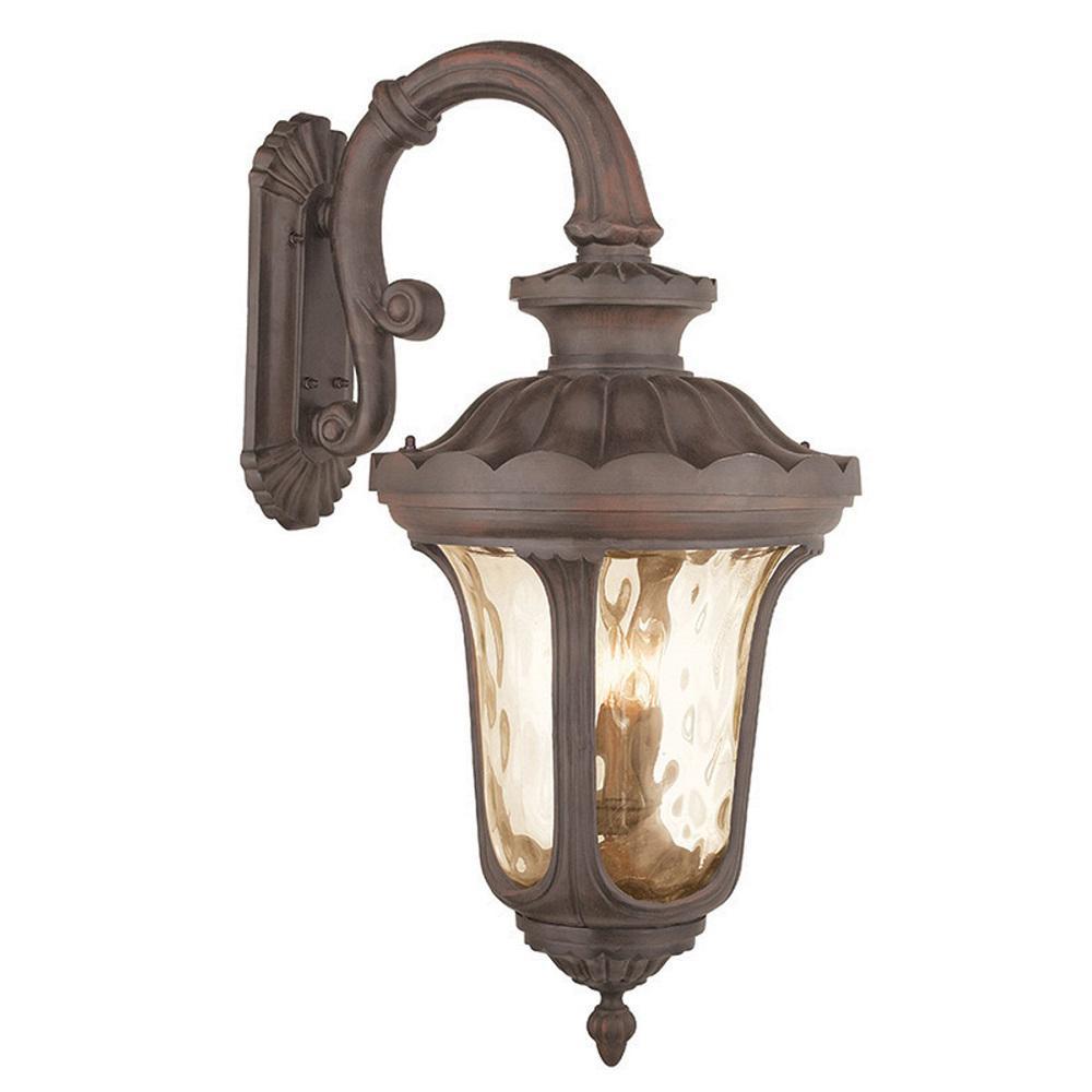 Frontenac 4-Light Imperial Bronze Outdoor Wall Lantern