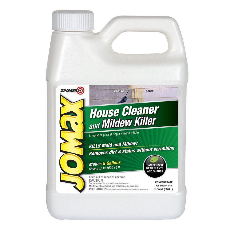 Zinsser 1 qt. Jomax House Cleaner and Mildew Killer