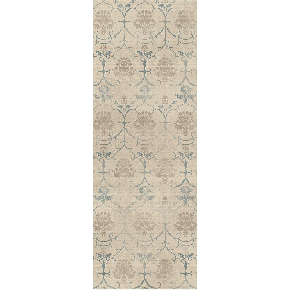 Ruggable Washable Leyla Creme Vintage 3 Ft X 7 Runner Rug 148296web The Home Depot
