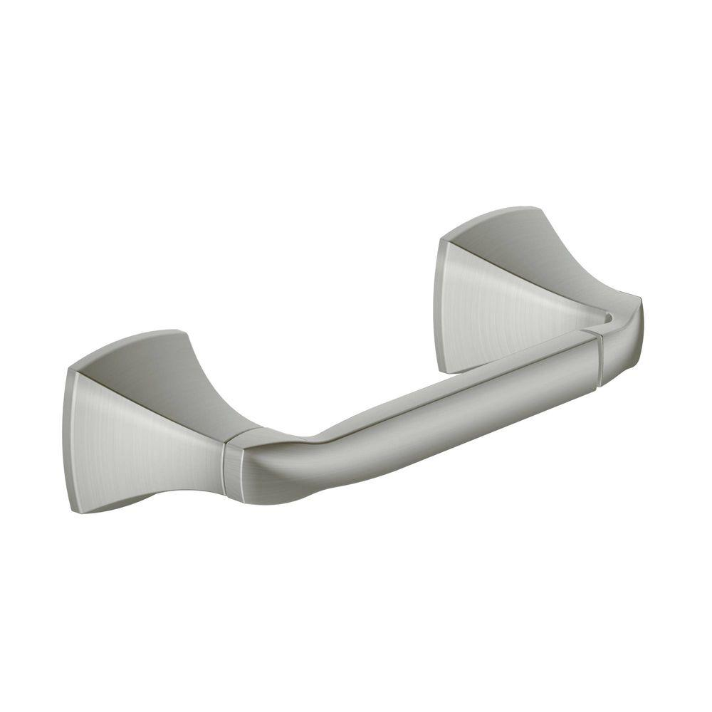 MOEN Voss Pivoting Double Post Toilet Paper Holder In Chrome