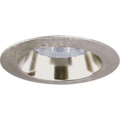 4 in. Brushed Nickel Recessed Open Trim