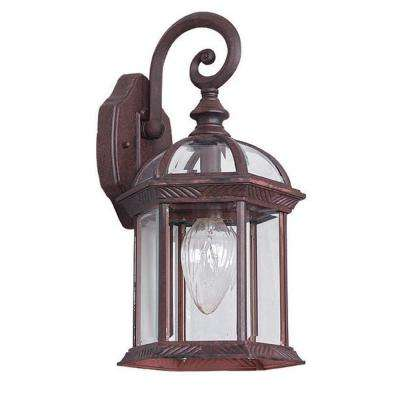 Presbury 1-Light Oil-Rubbed Bronze Outdoor Wall Lantern