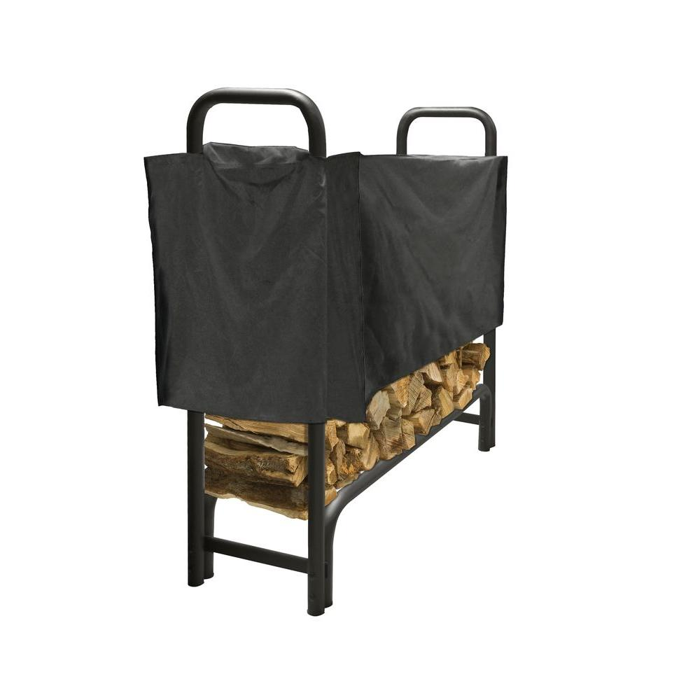 4 ft. Heavy Duty Firewood Rack with Half Cover