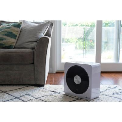 Portable Electric Ceramic Room Heater with 4 Critical Safety Features and Whisper Quiet Heating for 250 sq. ft. - White