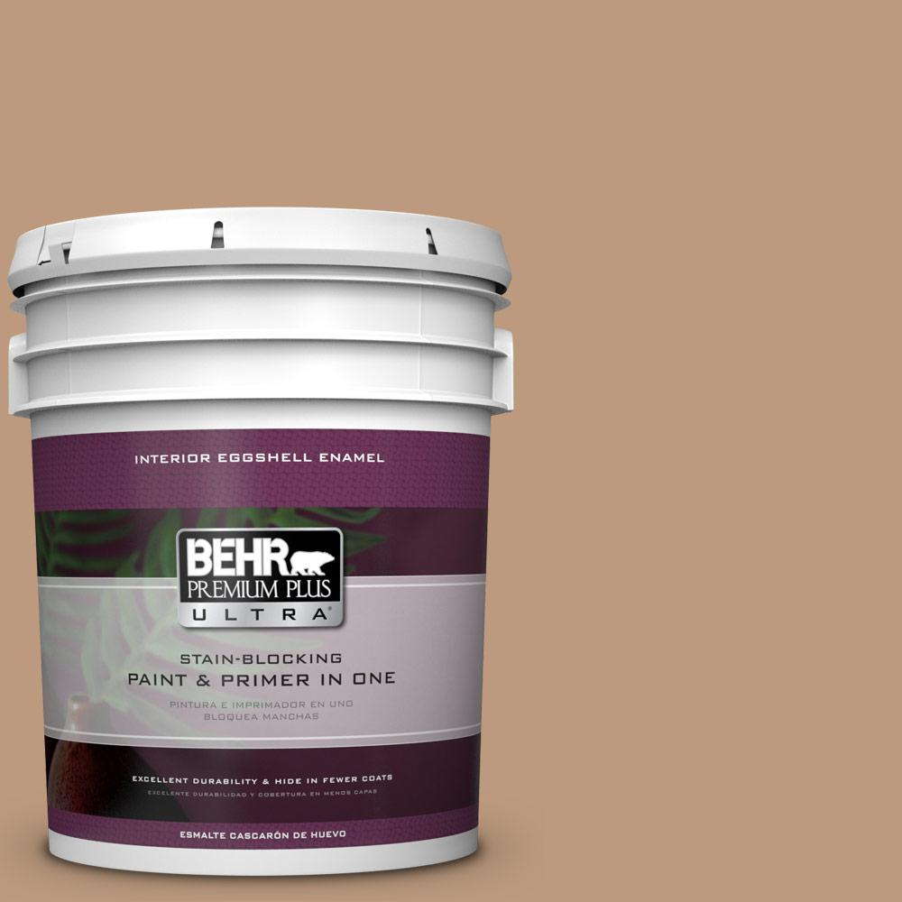 5 gal. #MQ2-3 Key to the City Eggshell Enamel Interior Paint