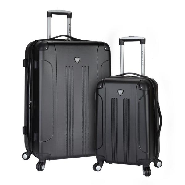 TCL 2-Piece Hardside Vertical Rolling Luggage Set with Spinners HS-66902-EX-001