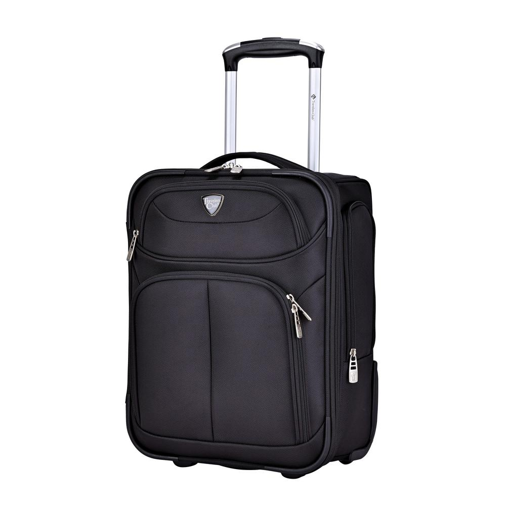 17 in. Underseater Rolling Carry-on in Black