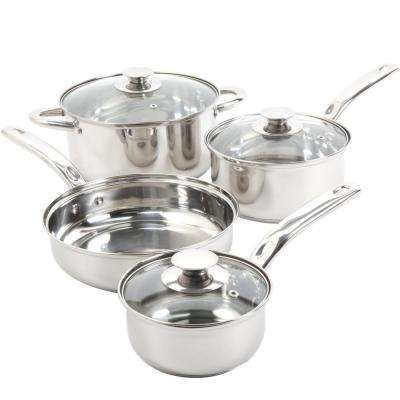 Ansonville 7-Piece Stainless Steel Cookware Set