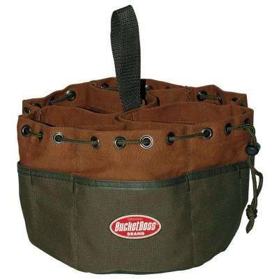 Parachute Bag 10 in. Parts Bag, Brown