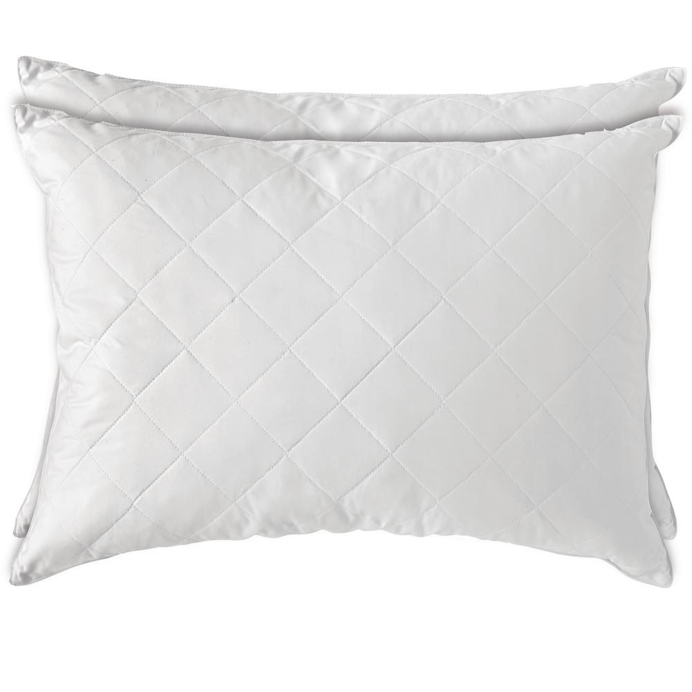 Duck Down Jumbo Pillow (Set of 2)