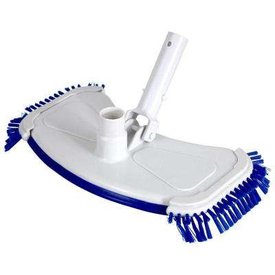 18 in. Weighted Vacuum Head with Side Brushes