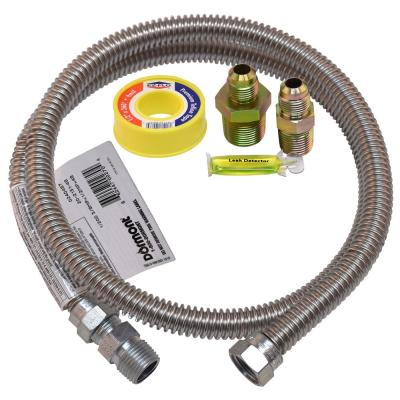 48 in. Stainless Steel Dryer Gas Connector Kit