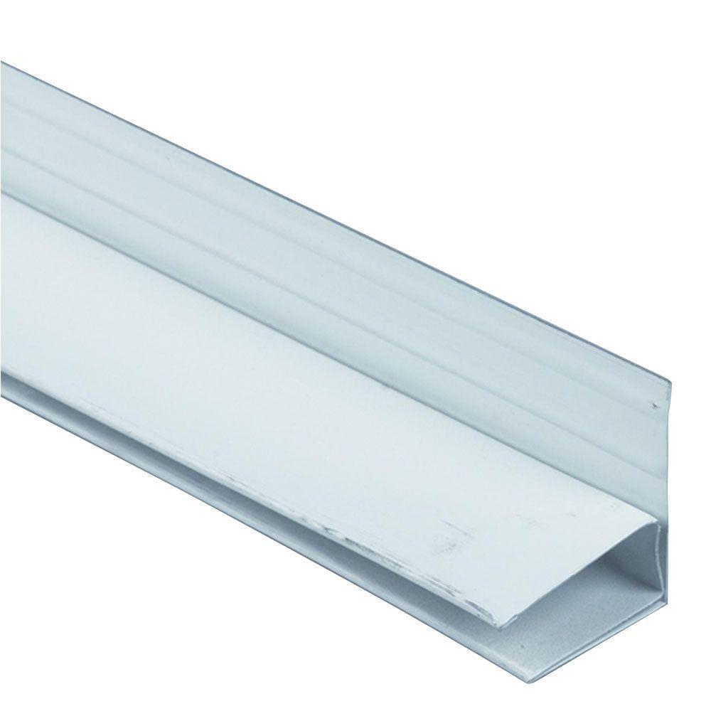 12 ft. Birch White Aluminum Reversible Frieze Runner