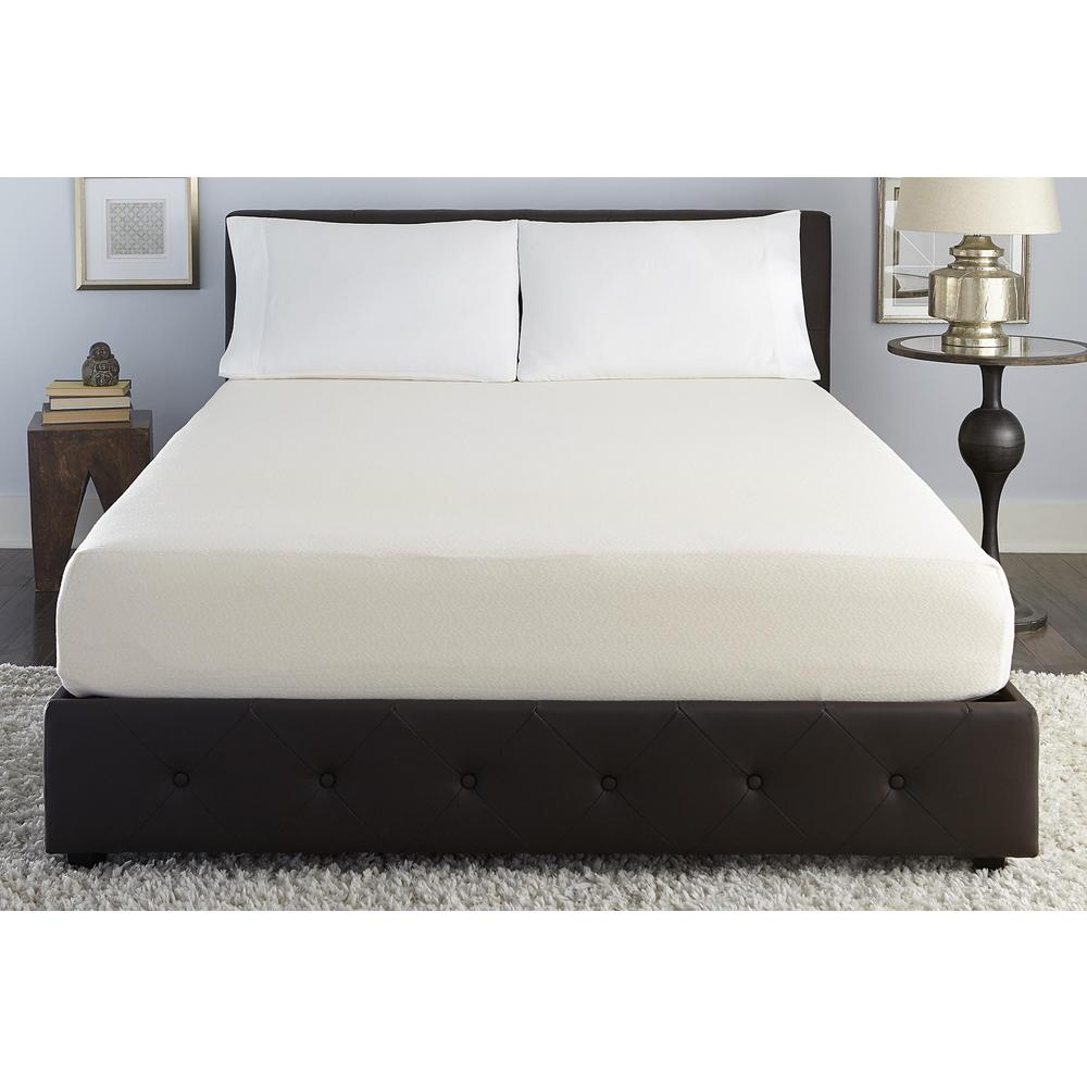 Signature Sleep Tranquility Twin Size 10 in. Memory Foam Mattress with CertiPUR-US Certified Foam