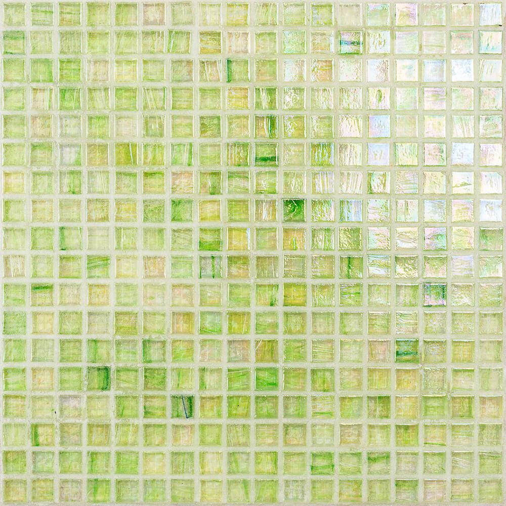 Breeze Green Apple 12-3/4 in. x 12-3/4 in. x 6 mm Glass Mosaic Tile