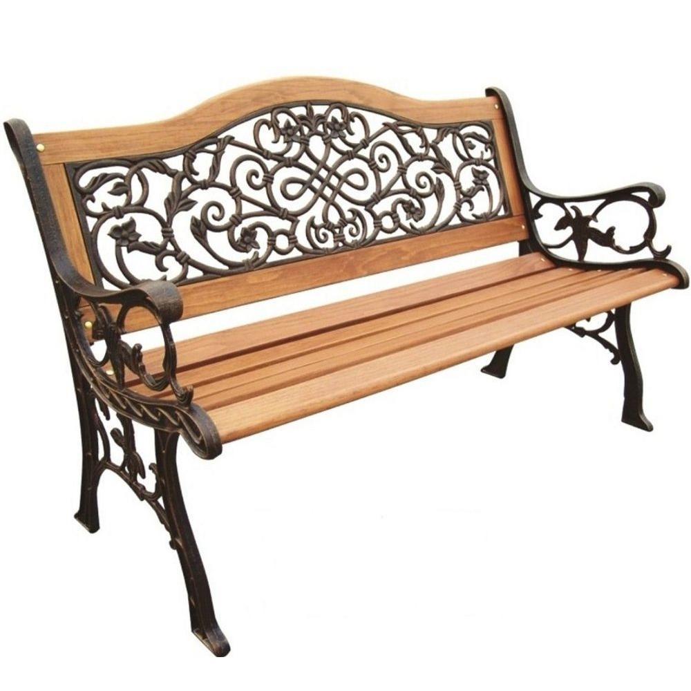 Sienna Camelback Patio Park Bench