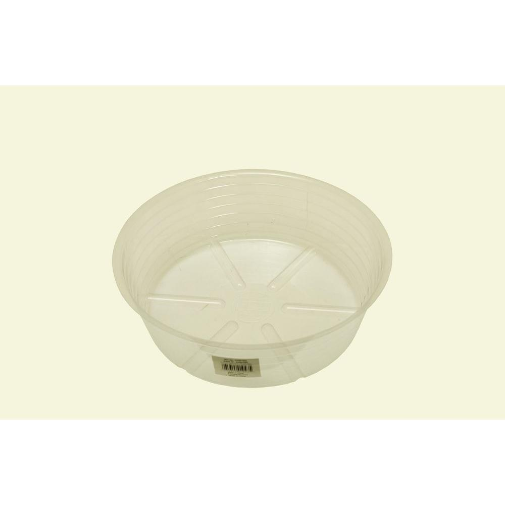 Bond Manufacturing 10 in. Deep Clear Plastic Saucer