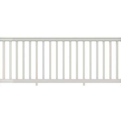 Premier 8 ft. x 36 in. White Vinyl Rail with Square Balusters