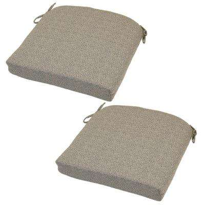 21 x 20.5 Outdoor Chair Cushion in Standard Dotted Sky (2-Pack)