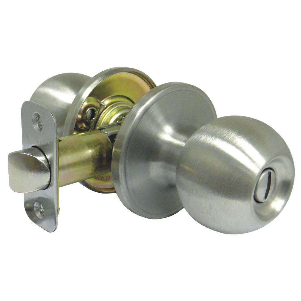 Faultless Ball Stainless Steel Privacy Knob