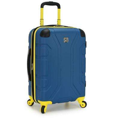 Sky High 22 in. Teal Expandable Hardside Spinner
