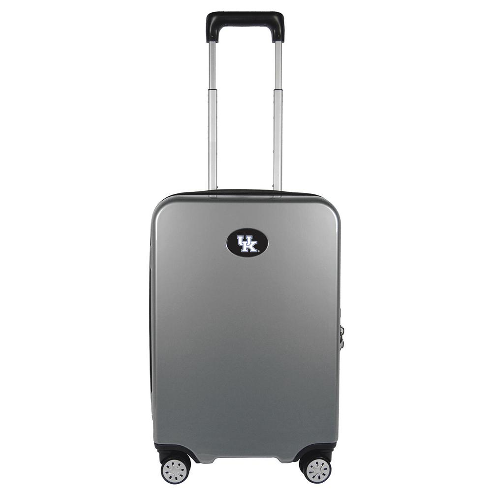 NCAA Kentucky Premium Silver 22 in. 100% PC Hardside Carry-On Spinner