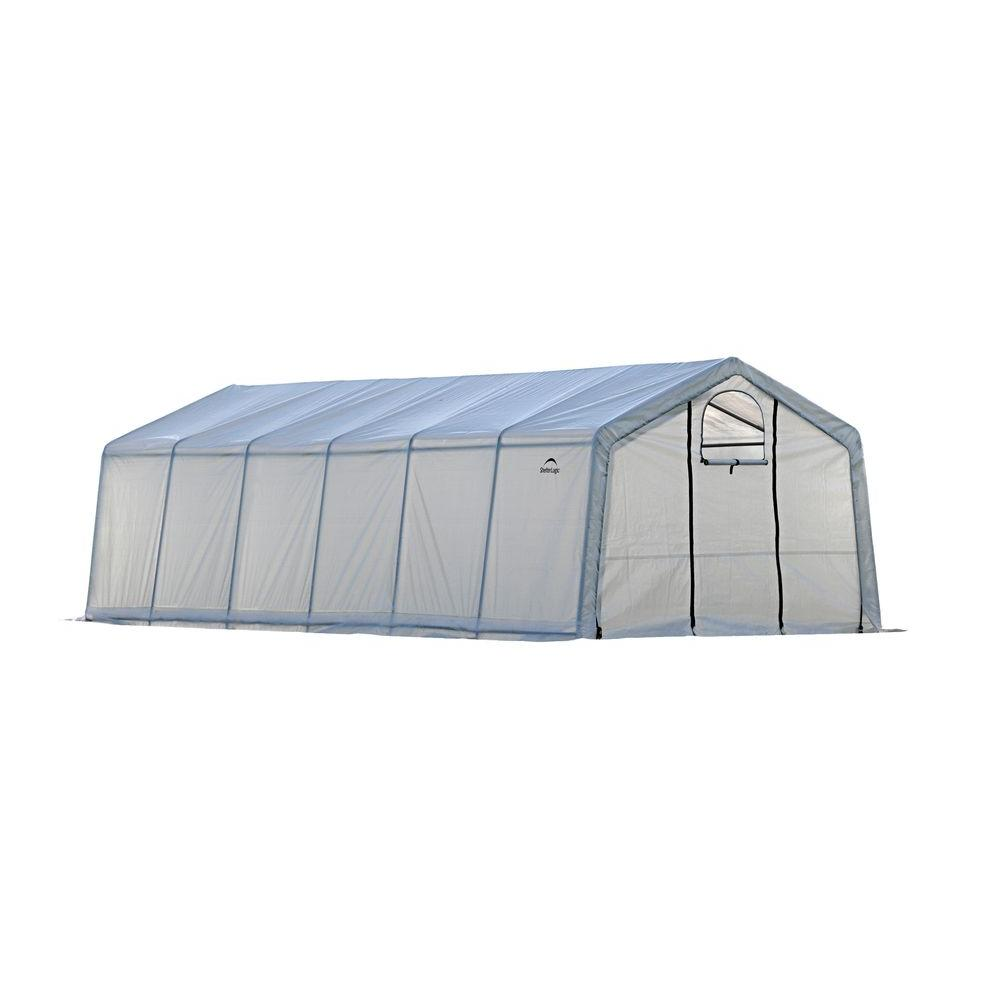 ShelterLogic GrowIt 12 ft. x 24 ft. x 8 ft. Walk-Thru Gre...