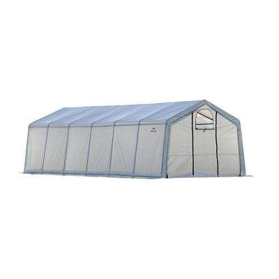 GrowIt 12 ft. x 24 ft. x 8 ft. Walk-Thru Greenhouse Peak Style