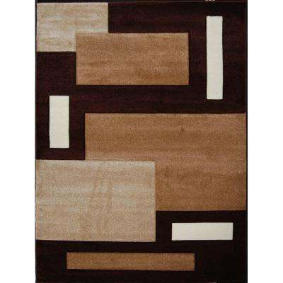 Sumatra Brown 8 ft. x 10 ft. Area Rug