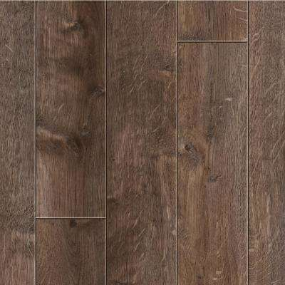 Mullen Home St. Claire Oak 8 mm Thick x 6.18 in. Wide x 50.79 in. Length Laminate Flooring (21.8 sq. ft. / case)