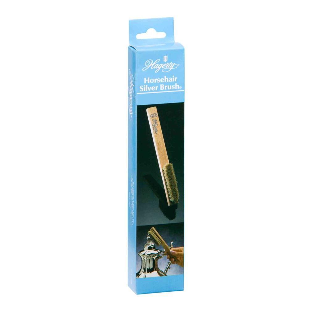 Horsehair Silver Brush