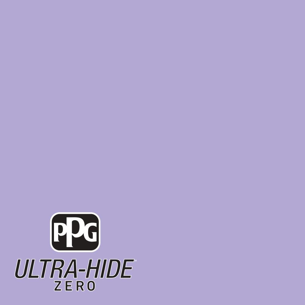 PPG 1-gal. #HDPV45D Ultra-Hide Zero Night Magic Violet Satin Interior Paint