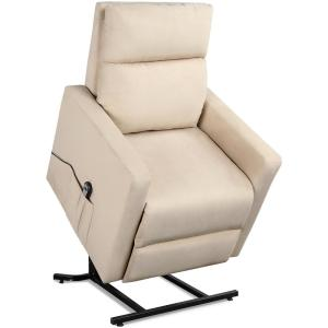 Enjoyable Merax Elegant Beige Power Lift Recliner Chair Pp189703Aaa Gmtry Best Dining Table And Chair Ideas Images Gmtryco