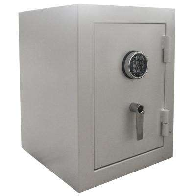3.32 cu. ft. Steel Jewelry Wall Safe with Electronic Lock Beige