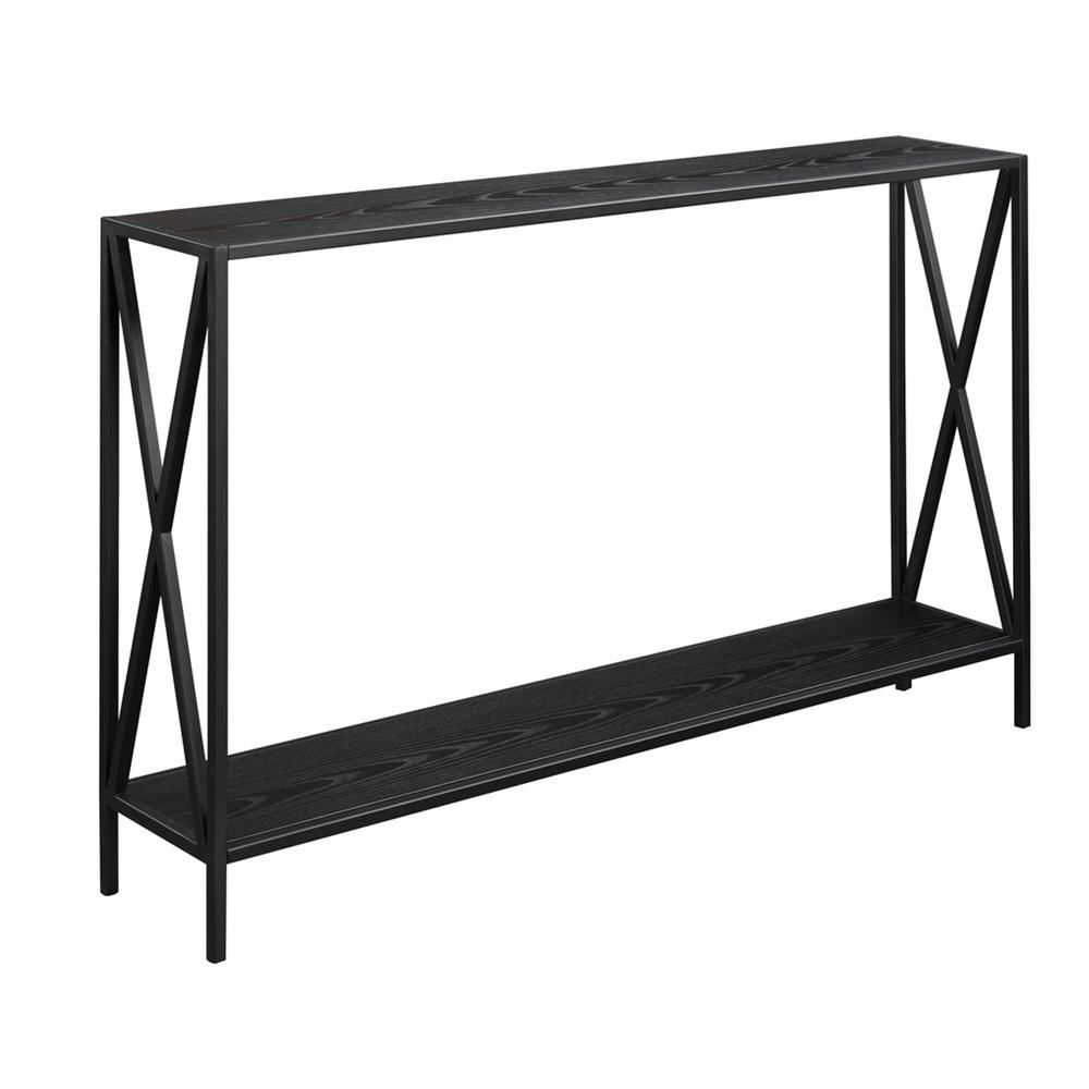 Convenience Concepts Tucson Black Console Table-161899BL ...