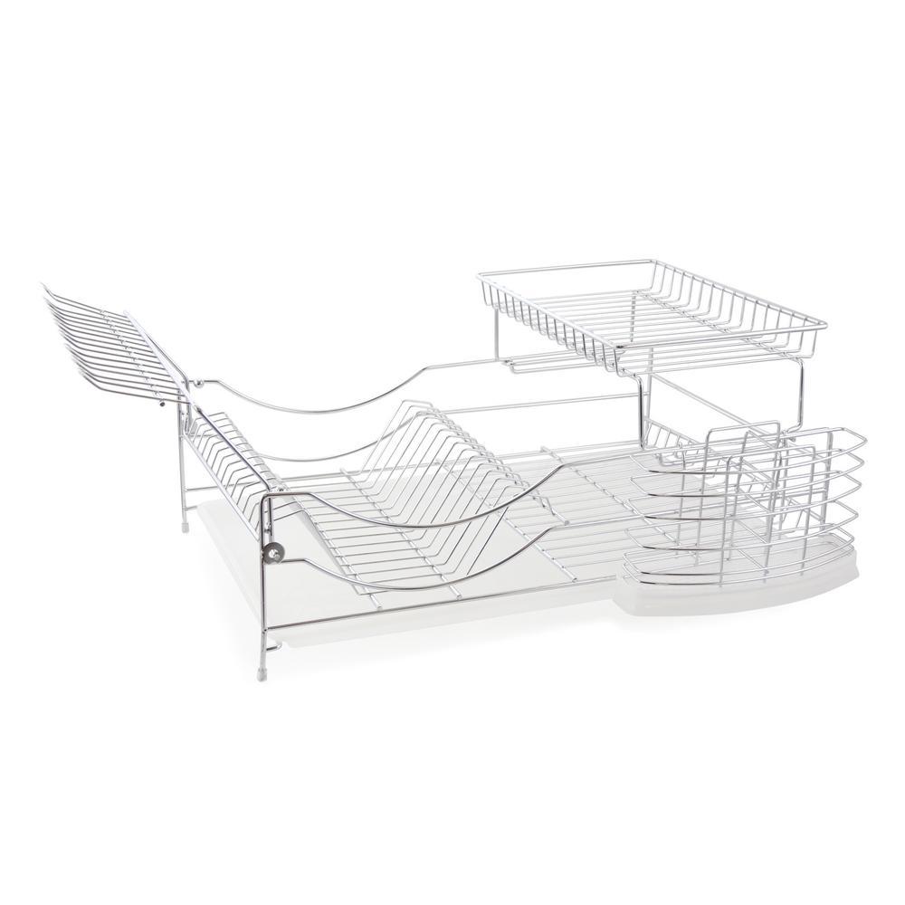 22 in. Sleek Modern Design Dish Rack