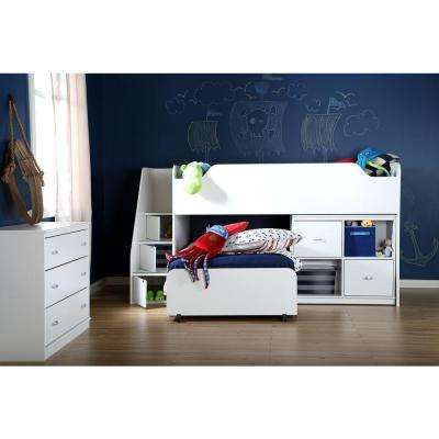 Mobby 3-Drawer Pure White Chest