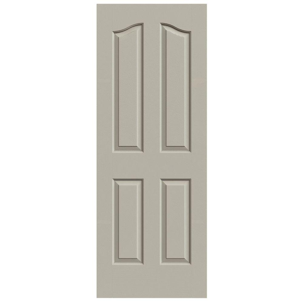 Superb Provincial Desert Sand Painted Textured Molded Composite MDF Interior Door  Slab THDJW137300012   The Home Depot