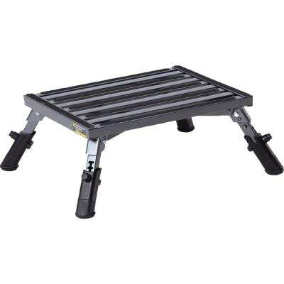 Adjustable Leg Aluminum Step
