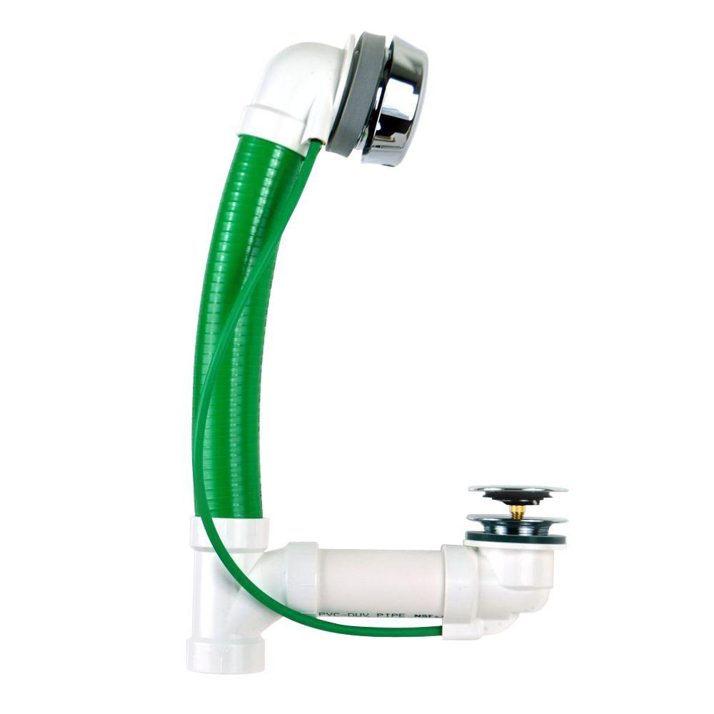 Watco Innovator CableFlex 948 48 in. Flexible PVC Bath Wa...