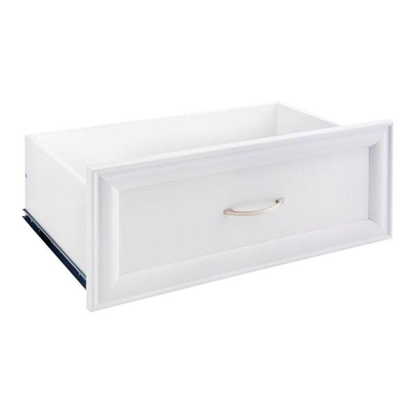 Selectives 24 in. W x 10 in. H White Wood Drawer Kit for 25 in. Selectives Tower